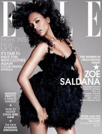 30 años ELLE USA: Zoe Saldana
