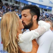 Tamara Gorro y Ezequiel Garay: amor en el fútbol