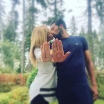Tamara Gorro y Ezequiel Garay: cuenta atrás para Shaila