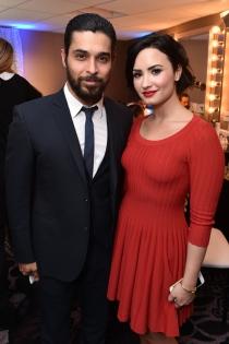 Mujeres y hombres: Demi Lovato y Wilmer Valderrama