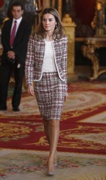 El mejor look de Letizia en la Hispanidad