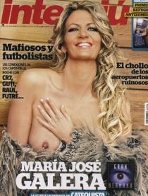 María José Galera desnuda: la primera expulsada de GH en Interviú