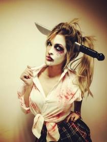 El Halloween más 'hot' de Ylenia