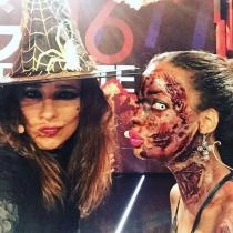 Carmen Alcayde y sus fotos de Halloween en Telecinco