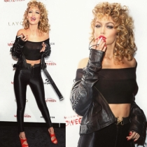 Halloween en Instagram: Gigi Hadid a lo Sandy de Grease