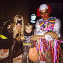 Halloween en Instagram: Fergie y su familia
