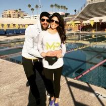 Famosos papás 2016: Michael Phelps y su novia