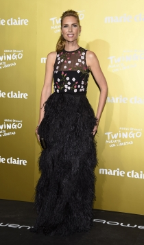 Premios Marie Claire 2015: Judit Mascó, radiante y estupenda