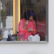 Famosas comiendo: Kylie Jenner a dos carrillos
