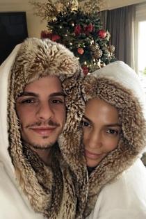 Jennifer Lopez y Casper Smart, puro amor