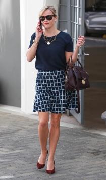 La falda de cuadros de Reese Witherspoon