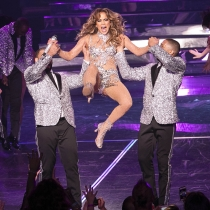 El descuido de Jennifer Lopez en las Vegas
