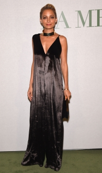 Slip dress: el vestido favorito de Nicole Richie