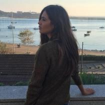 Sara Carbonero, totalmente en paz en Oporto