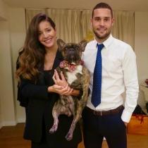 Malena Costa y Mario Suárez, formando su propia familia