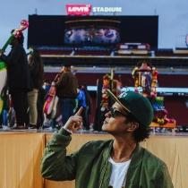 Super Bowl 2016: Bruno Mars, a punto de actuar desde Instagram