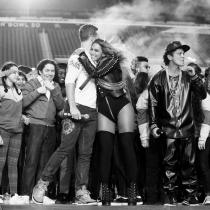 Super Bowl 2016: Beyoncé, en Instagram con Coldplay
