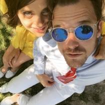 Los selfies, la especialidad de Macarena Gómez y Aldo Comas