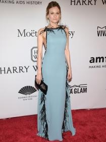 Diane Kruger, simplemente espectacular en la gala amfAR