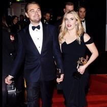 Kate Winslet y DiCaprio, juntos en los Bafta