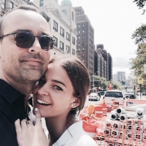 Laura Escanes y Risto, amor en Nueva York
