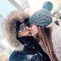 Laura Escanes y Risto Mejide: besos en Instagram
