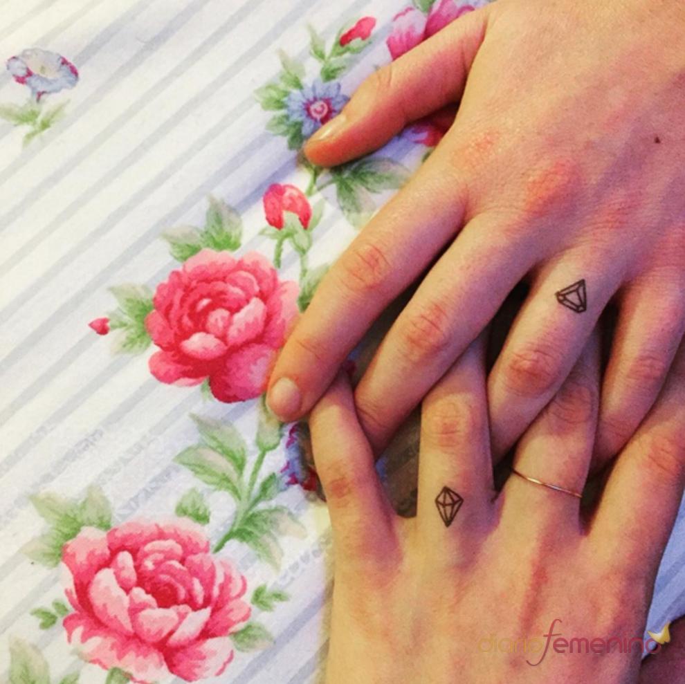 Tatuajes para parejas un diamante en la piel for Follando cocina
