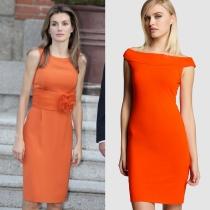 Vestidos de comunión para madres: inspiración El Corte Inglés y la Reina Letizia