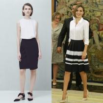 Vestidos de comunión para madres: blanco y negro, Letizia y MANGO