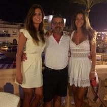 Malena Costa felicita a su padre en Instagram
