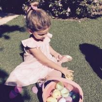 La hija de Lily Aldridge, en Pascua