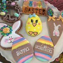 Los huevos de Pascua de las hijas de Adriana Lima