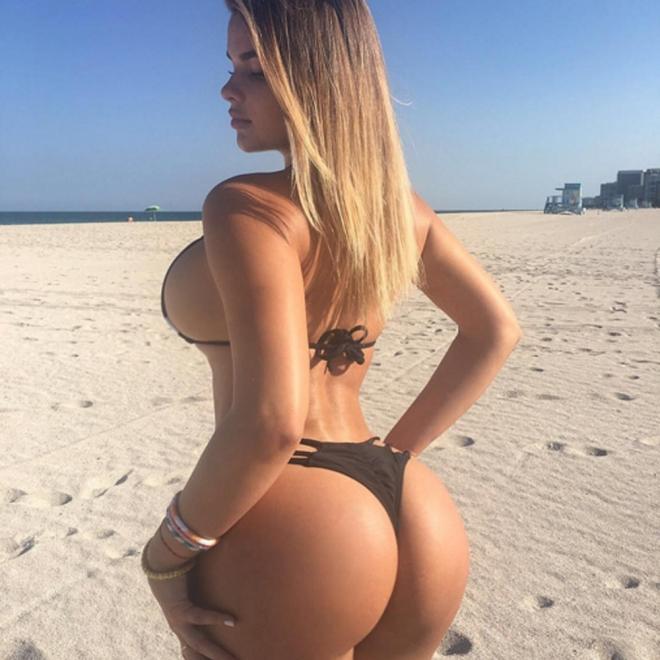 Anastasiya Kvitko, presumiendo de culo en Instagram