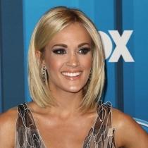 Famosas mejor maquilladas: Carrie Underwood, siempre divina