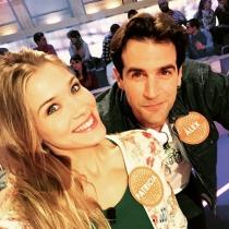 Patricia Montero y Álex Androver, juntos en Pasapalabra