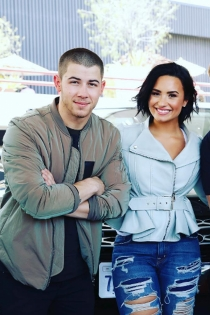 Nick Jonas y Demi Lovato, juntos en la música