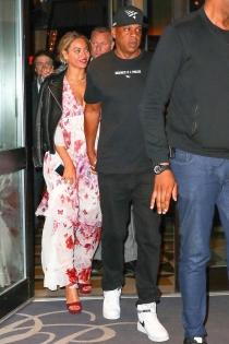 Beyoncé y Jay Z, cenas románticas