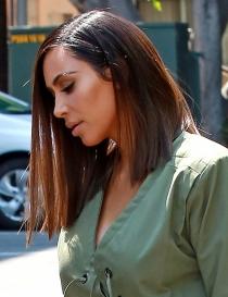 Long bob, la nueva obsesión de Kim Kardashian