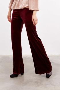 Look 'terciopelo chic': Pantalón velvet