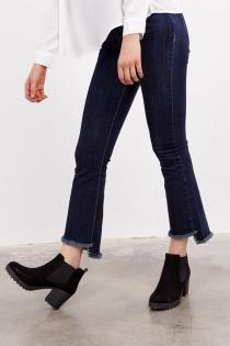 Look casual: Jeans bajo desigual