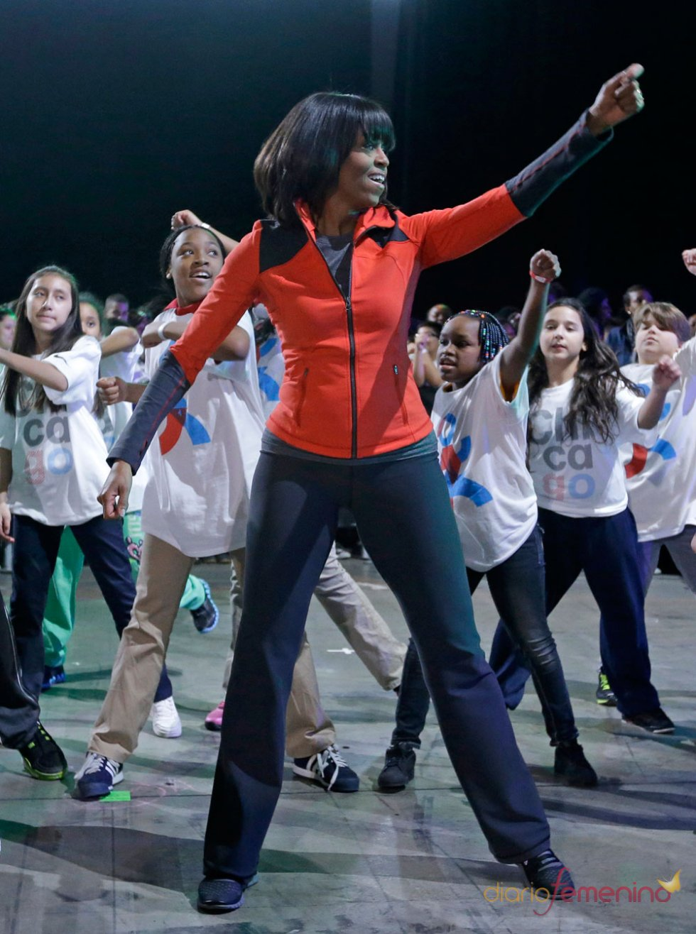 Michelle Obama, elegante incluso con chandal