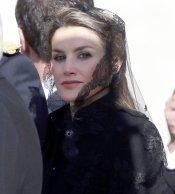 La Princesa Letizia en la primera gran pisa del Papa Francisco