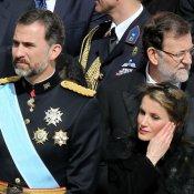 Letizia y el Príncipe Felipe: la delegación española con el Papa Francisco