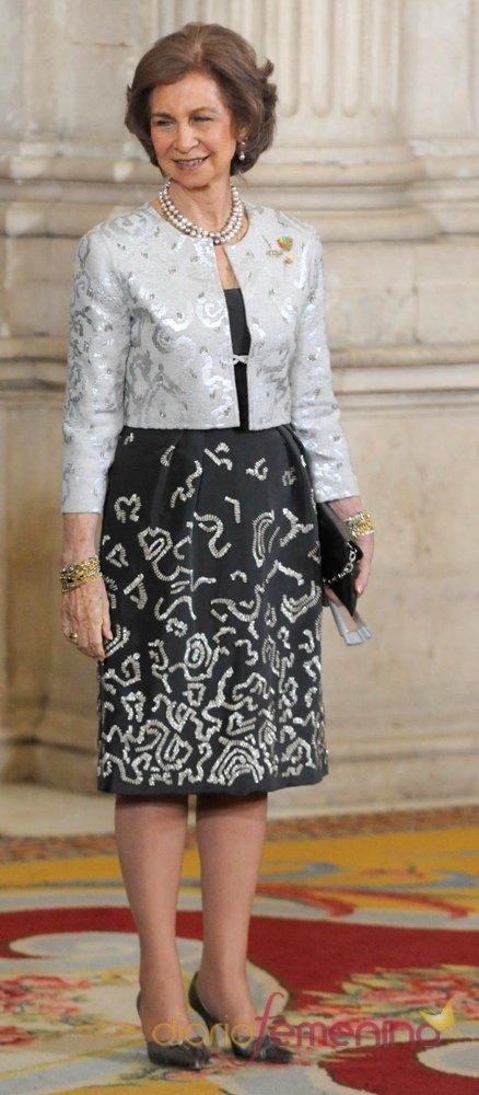 La Reina Sofía da su apoyo a la candidatura Olímpica Madrid 2020 y recibe a los miembros del COI