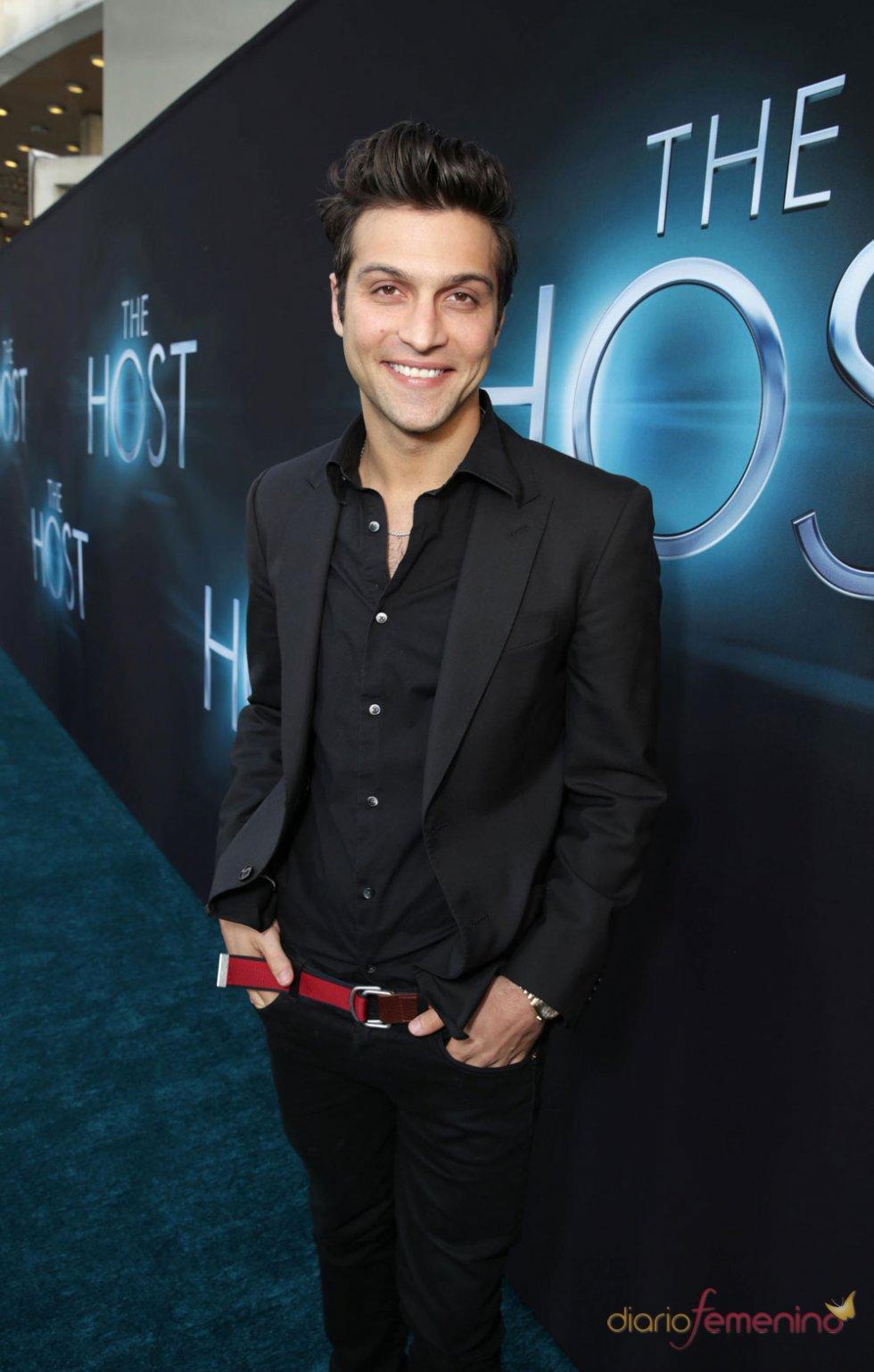 Alexander DiPersia en el estreno de 'The Host' en Los Ángeles