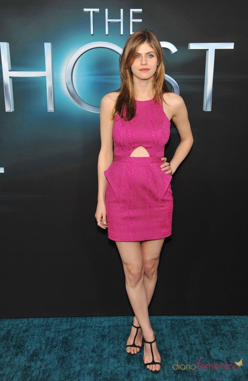 Alexandra Daddario en el estreno de 'The Host' en Los Ángeles