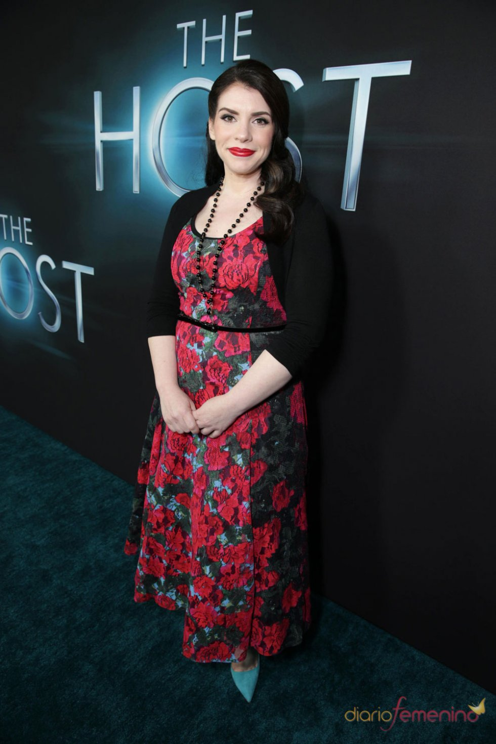 Stephenie Meyer en el estreno de 'The Host' en Los Ángeles