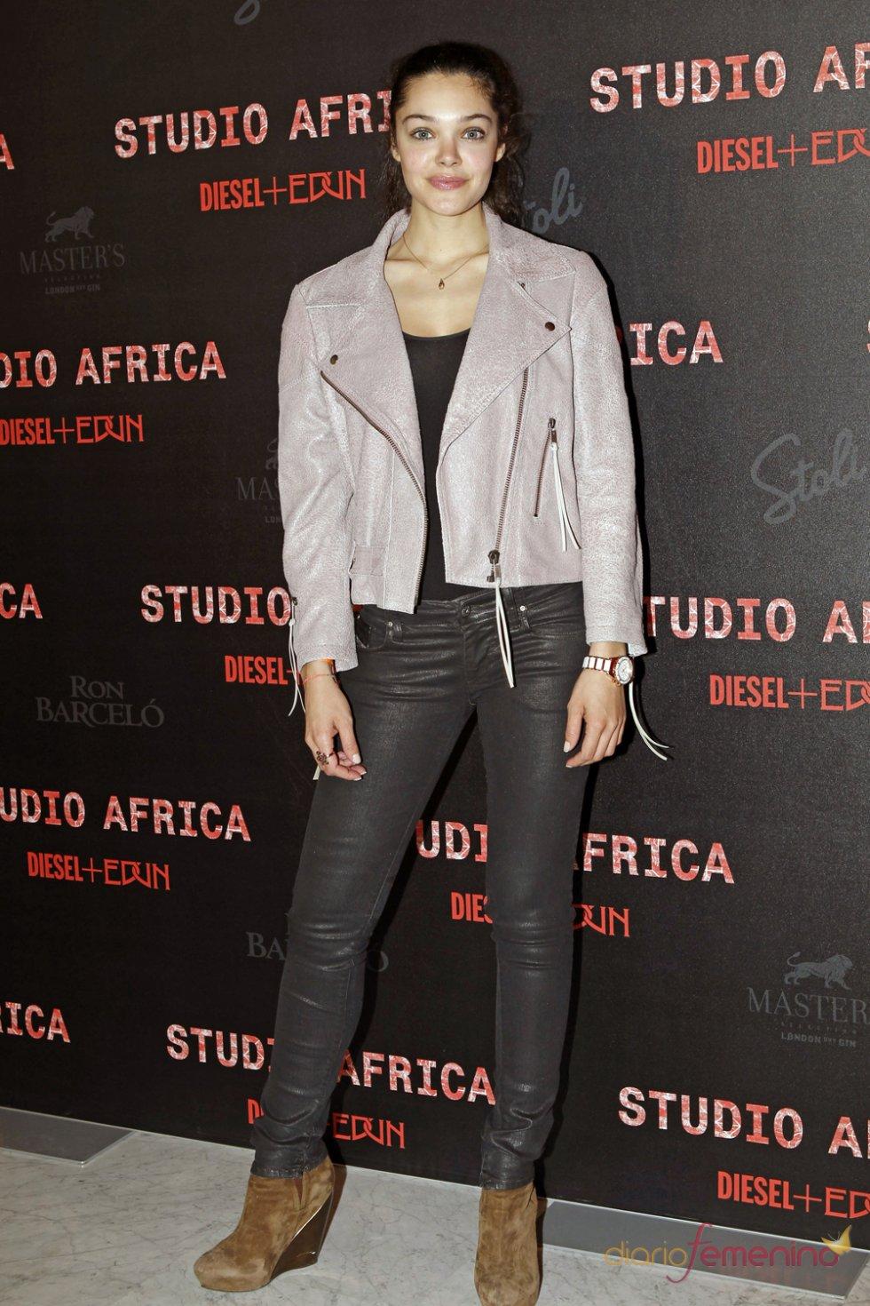 La actriz Ana Rujas en la fiesta de Diesel 2013
