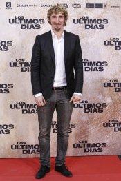 El actor Iván Massagué en la premiere de 'Los últimos días'