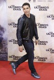 El actor Miguel Ángel Silvestre en la premiere de 'Los últimos días'